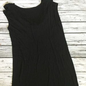 Club Monaco Black Low Back Size 10
